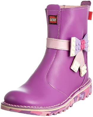 Kickers Junior Lego Bow Boot J Purple Classic Boot 1-ka10j0360pa7 12.5 Child Uk
