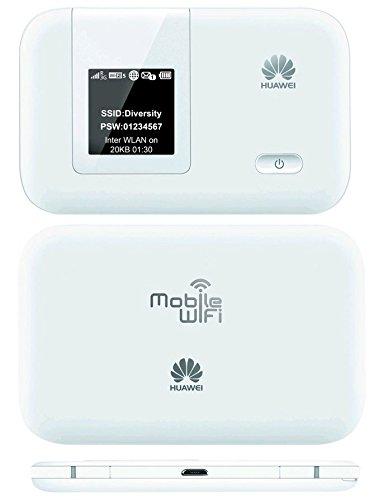 Huawei LTE 4G/3G/GSM E5372T モバイル WIFI ルーター下り最大150Mbps Mobile WiFi (SIM フリー版) 電池容量3500mAh