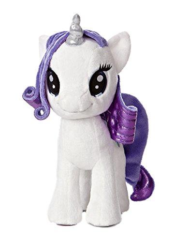 "Aurora World My Little Pony Rarity Pony Plush, 10"""