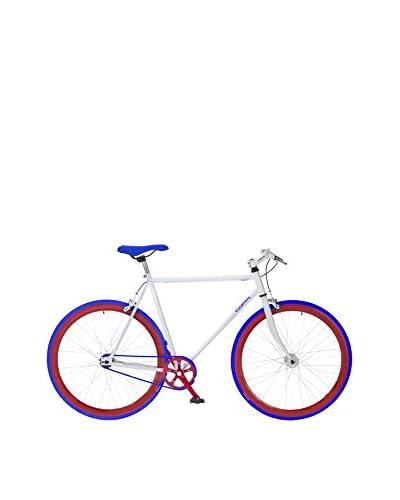 Fausto Coppi Bicicleta Scatto Fisso Blanco