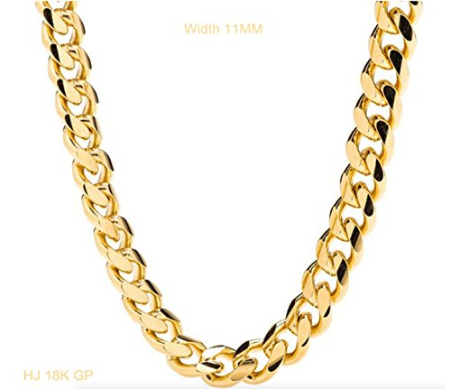 gold-chain-necklace-10mm-smooth-cuban-curb-link-for-men-hip-hop-women-tarnish-resistant-lobster-clas