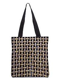 Snoogg Abstract Locked Design Digitally Printed Utility Tote Bag Handbag Made Of Poly Canvas