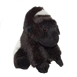 ZSL - Minis Lifelike Soft Toy Gorilla