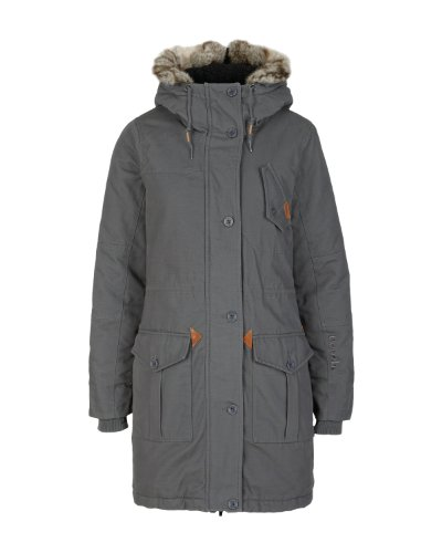 Bench Huyton Women's Parka Jacket dark shadow Size:L