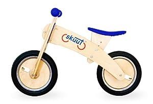 Diggin Active Skuut Wooden Balance Bike, Blue