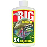 Bubble Thing Big Bubbles Mix - Makes 5.4 GALLONS (690 Ounces) - Bubbles Biggest, Costs Least! (Tamaño: 6inx4inx2in)