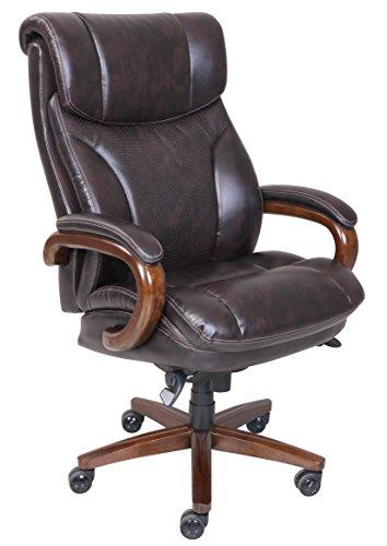 la-z-boy-45782-trafford-big-tall-executive-bonded-leather-office-chair-vino-brown