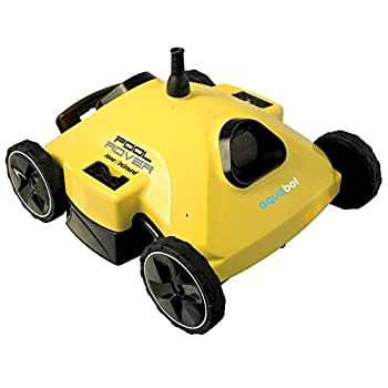 Aquabot AJET122 Pool Rover S2-50 Robotic Pool Cleaner for Above-Ground and Small In-Ground Pools