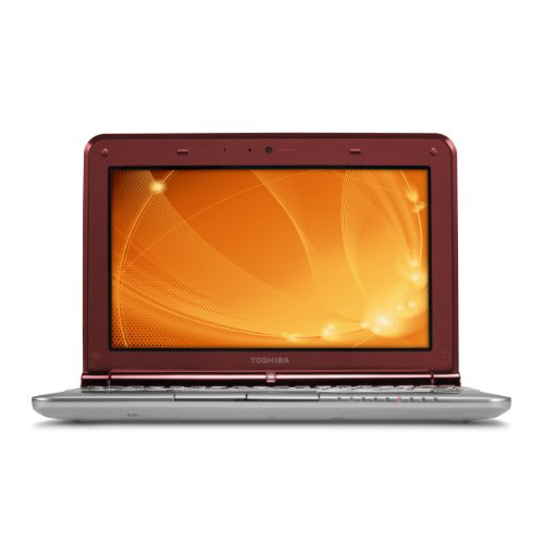 Toshiba Mini NB305-N440RD 10.1-Inch Ruby Red Netbook (8 Hour Battery Life)
