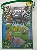 Jungle Tails: Adventures with Three Animal Friends W/3 Hand Puppets (0794409091) by Wendy Wax