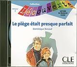 echange, troc  - CD INDIVIDUEL LE PIEGE ETAITPRESQUE PARFAIT NIVEAU3 - COLLECTION DECOUVERTE Livre scolaire