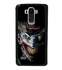 printtech Joker Gotham Art Scary Back Case Cover for LG G4 Stylus ,Versions: H631 (T-Mobile); MS631 (Metro PCS); H635 (EMEA); H540 (UAE); H630D (India); H542 (Mexico)