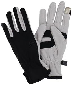 Manzella Women's Equinox Touch Tip Gloves, Platinum, Small/Medium