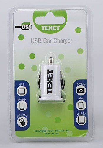 Texet CARUSB1A USB Car Charger