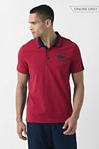 Short Sleeve Super Light Polo with Croc Graphic
