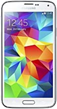 Samsung Galaxy S5 Smartphone (5 Zoll Display, 16 GB Speicher, Android 4.4) shimmery-white