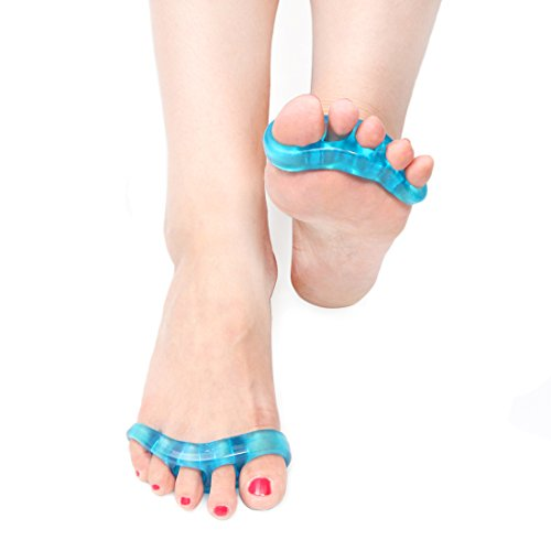 Einyou Gel Toe Separator for Bunions-An effective Treatment for Bunions-Hypoallergenic Gel Spreader (Sneakers For Flat Feet Women compare prices)
