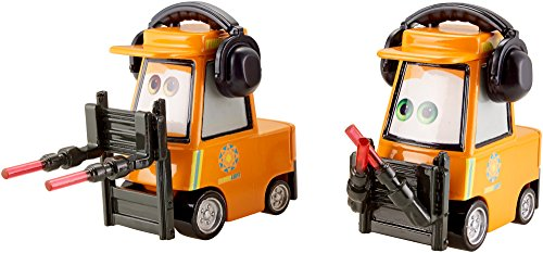 Disney/Pixar Cars, Airport Adventure 2015 Series, Nat McLugnut & Michael Honksel Die-Cast Vehicles #4,5/6, 1:55 Scale