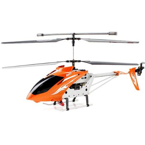 Big Bargain Syma S031G Metal 3 channel radio Remote control RC Helicopter with GYRO 61cm
