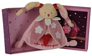 Doudou et Compagnie DC2147 - Mantita de arrullo luminiscente, color rosa de Doudou et Compagnie