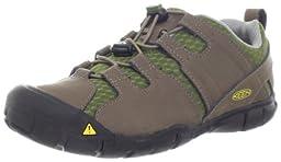 KEEN Medomak CNX Hiking Shoe (Toddler/Little Kid/Big Kid),Shitake/Capulet Olive,5 M US Big Kid