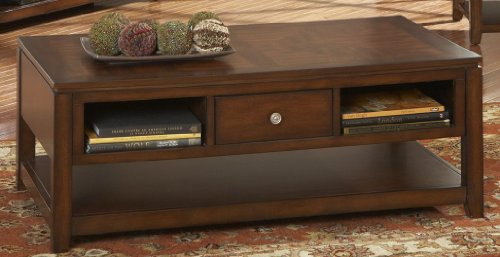Steve Silver Bolivar Rectangle Wood Coffee Table