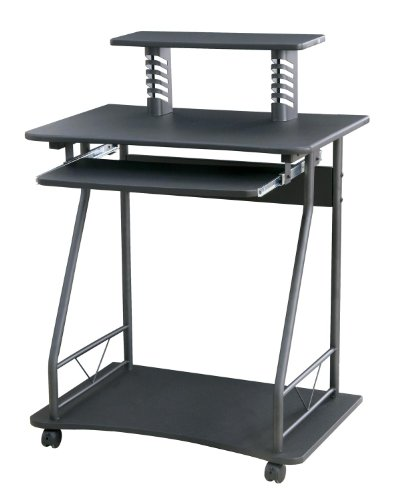 Home source industries 4427 computer cart black for Homesource furniture