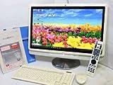 20インチワイド富士通 地デジ液晶一体型ESPRIMO FH55/CD 美品Win10 64 Home/リカバリー領域あり/Core i5/4G/1500GB/カメラ/地デジ/Blu-ray/Microsoft office 2010HB/ワイヤレスキーボード、マウス、リモコン【一体型 中古パソコン office付き】