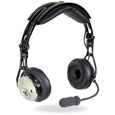 David Clark DC PRO-X Hybrid Electronic Noise-Cancelling Aviation Headset by David Clark