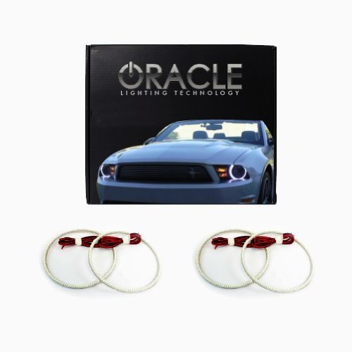 Oracle Lighting Ch-Co0513T-W - Chevrolet Corvette C6 Led Halo Tail Light Halo Rings - White