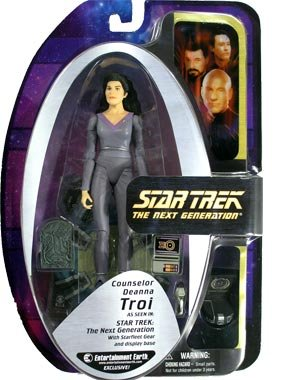 Buy Low Price Diamond Select Star Trek: TNG EE Exclusive Deanna Troi Action Figure (B000HBYE7M)