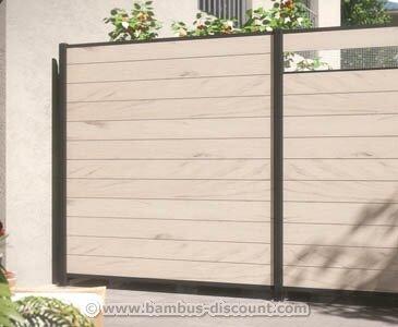 wpc zaun storeamore. Black Bedroom Furniture Sets. Home Design Ideas