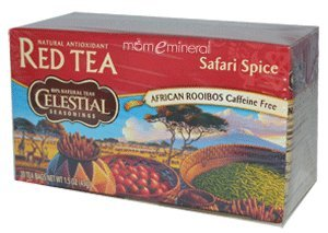 Celestial Seasonings AfricanRooibos Caffeine Free Tea Safari Spice - 20 Tea Bags