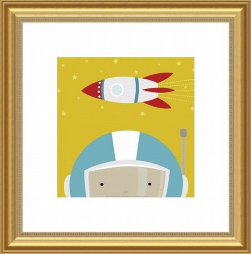 Barewalls Wall Decor by Yuko Lau, Peek A Boo Astronaut