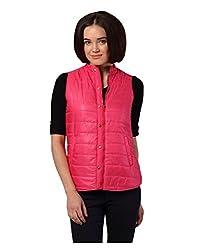 Yepme Marina Sleeveless Jacket - Pink -- YPMJACKT5036_S