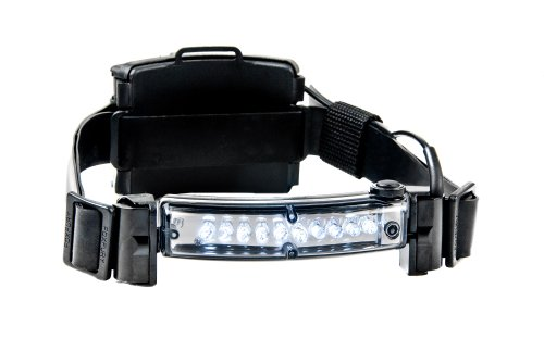 """Foxfury 410-006 Command 10 Led Firefighter Helmet Light With 1"""" Silicone Strap, 48 Lumens"""