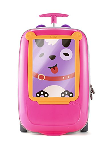 Benbat Look What I Made Govinci Trolley Frame, Pink with Orange