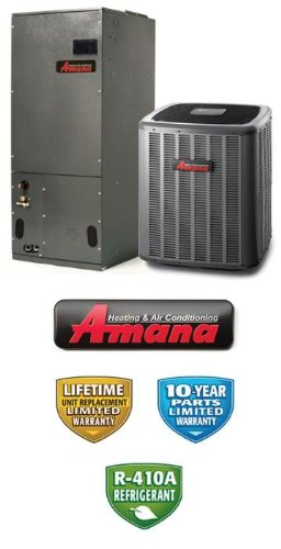 Lower price 4 ton 15 seer amana air conditioning system for Motor for ac unit cost