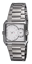 Giordano Analog White Dial Mens Watch - GIORDANO_60074 WHT