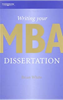 Writing your mba dissertation early | www spadarihotel com