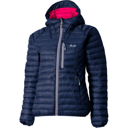 Rab Microlight Alpine Down Jacket - Women's Twilight, US M/UK 12