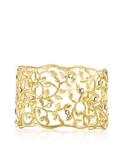 Shiny Cristal Braccialetto  metallo placcato oro 24 kt