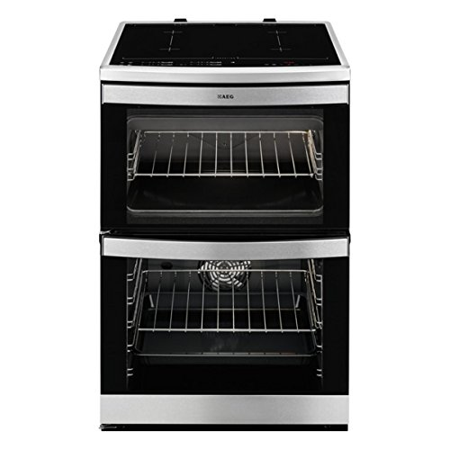 AEG 49176IW-MN COMPETENCE 60cm Electric Cooker with Induction Hob in Stainless steel