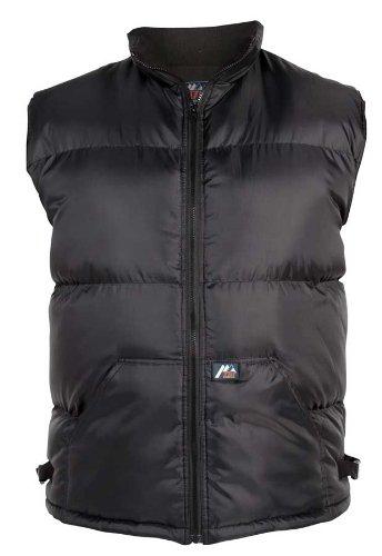 Duke Mens Padded Waist Coat/Bodywarmer Gilet (Black, S-XL)