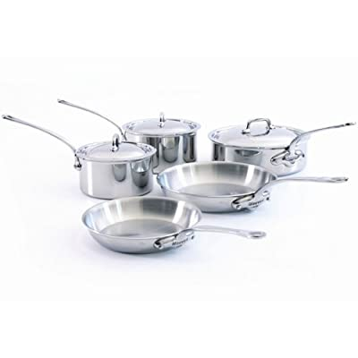 Mauviel M'Cook 5 Ply Stainless Steel Cookware Sets