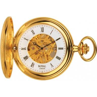Royal London 90009-01 Mens Mechanical Pocket Watch