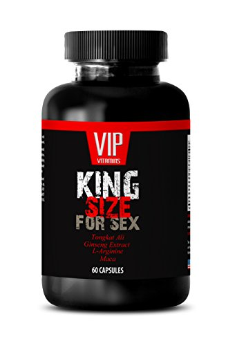 Pure tongkat ali extract - KING SIZE FOR SEX - Sex enhancers for men (1 Bottle 60 Capsules) (Man Energy Pills compare prices)