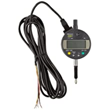 Mitutoyo 543-280 Absolute LCD Digimatic Indicator ID-C, M2.X0.45 Thread, 8mm Stem Dia., Lug Back, 0-12.7mm Range, 0.001mm Graduation, +/-0.003mm Accuracy