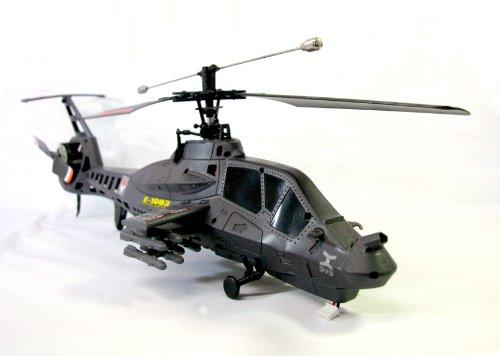 ジャイロスコープ搭載!長さ50cm★4ch米軍武装偵察ヘリコプターラジコン「RAH-66コマンチ」