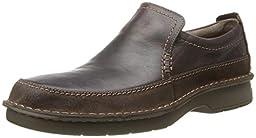 Clarks Men\'s Seeley Step Brown Leather Loafer  ,12 D(M) US
